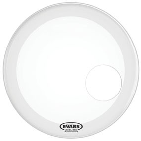 "Evans Evans 20"" EQ3 Resonant Coated White"