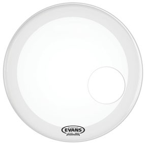 "Evans Evans 22"" EQ3 Resonant Smooth White"