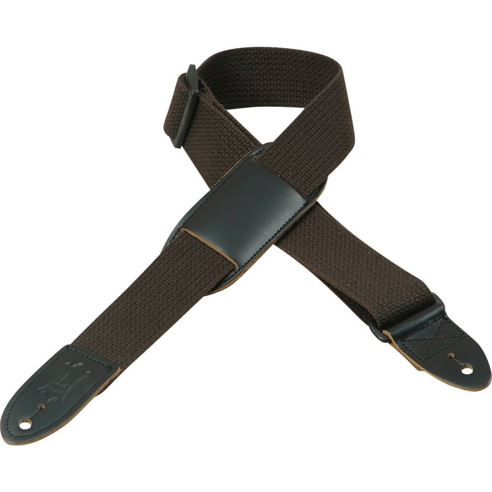 "Levy's Levy's MC8PJ-BRN 1.5"" Cotton Kids' Strap w/ Leather Pad, Brown"