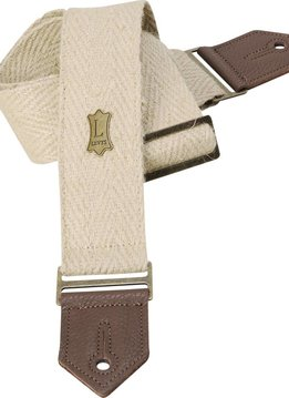 "Levy's Levy's M8H 2"" Hemp Burlap Webbing w/ Leather Ends"