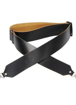 "Levy's Levy's M9-BLK 2"" Leather Banjo Strap - Black"