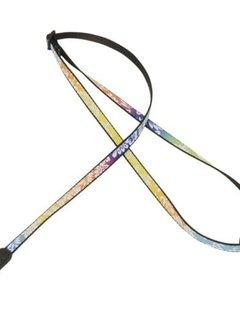 Levy's Levy's MP19UKE-005 Rainbow Patterned Uke Strap