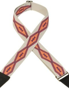 "Levy's Levy's MC8ARZ-003 2"" Arizona Pattern Poly Strap"