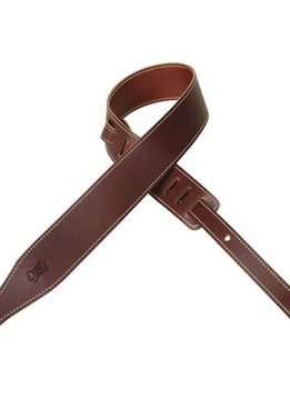 Levy's Levy's MV17-BRG Veg-Tan Leather Strap, Burgandy