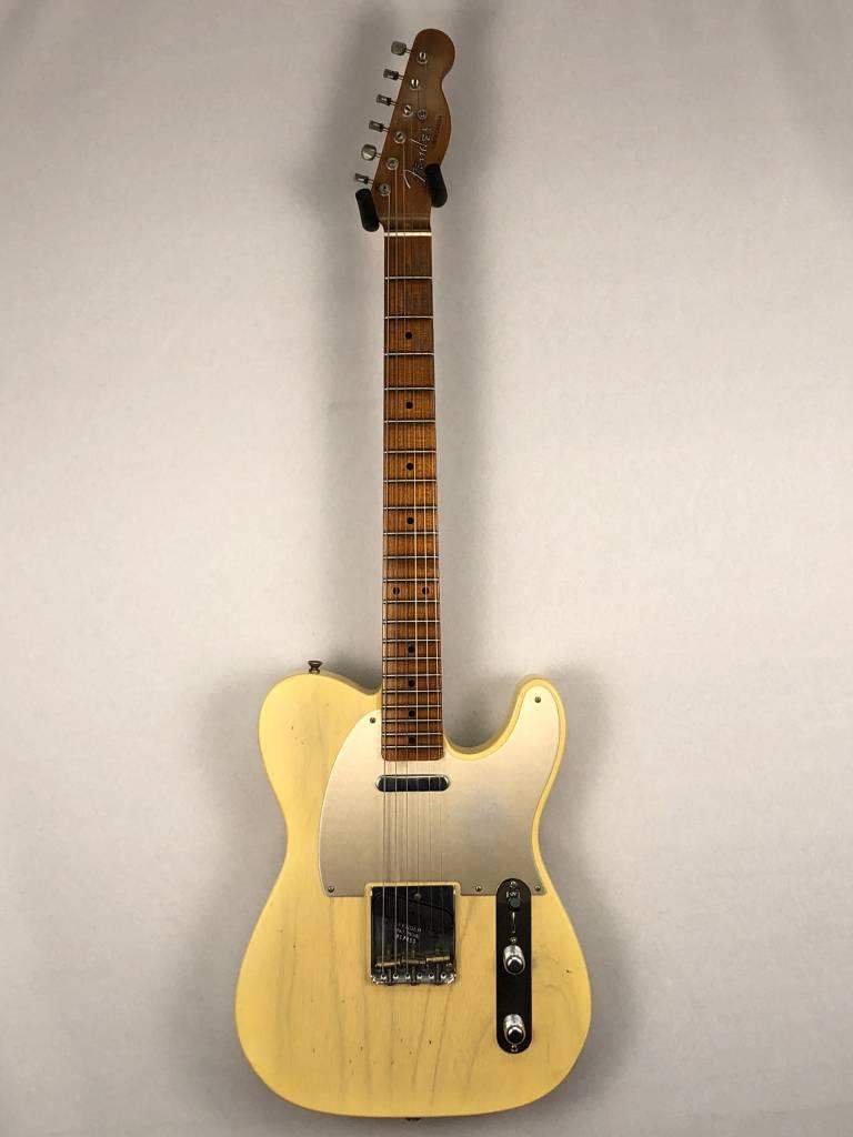 Fender Fender 2017 Summer Ltd Red Hot Roasted Tele, Aged Nocaster Blonde