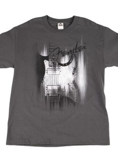 Fender Fender® Airbrushed Strat T-Shirt, Gray, Large