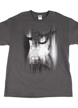 Fender Fender® Airbrushed Strat T-Shirt, Gray, XX-Large