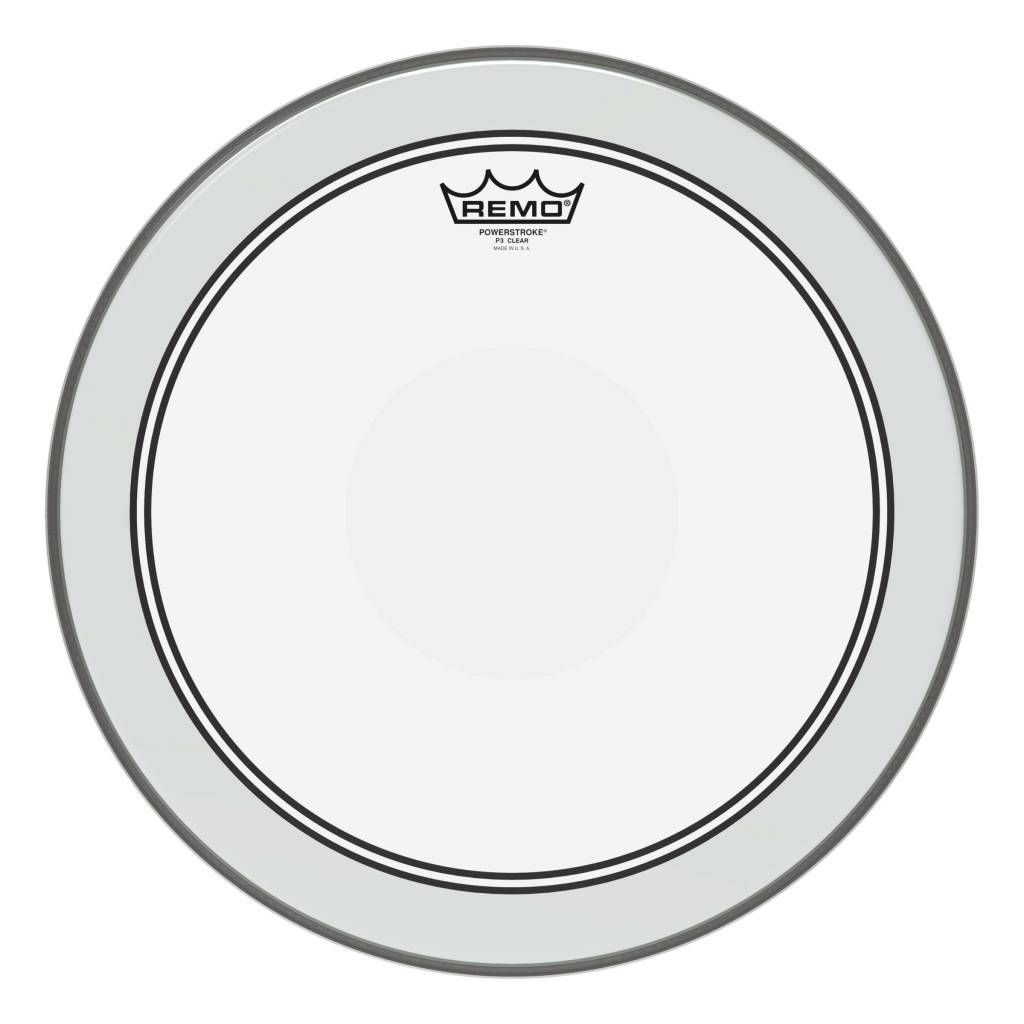 "Remo Remo 16"" Powerstroke P3 Clear Dot"