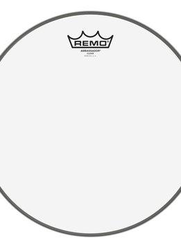"""Remo Remo 14"""" Ambassador Clear"""