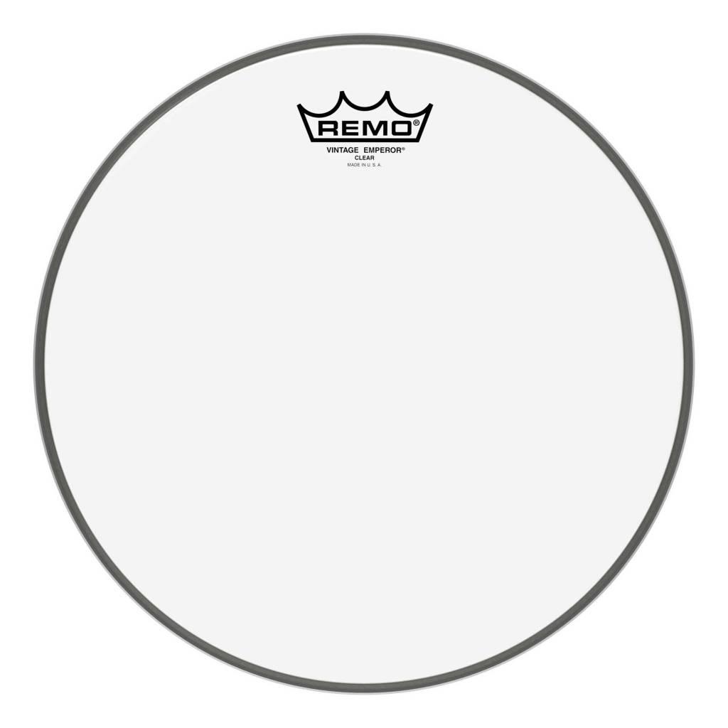 """Remo Remo 12"""" Vintage Emperor Clear"""