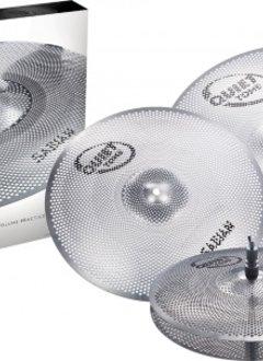 Sabian Sabian QTPC504 Quiet Tone Low Volume Practice Cymbal Set