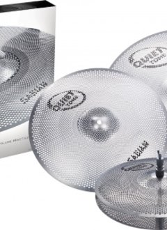 "Sabian Sabian Quiet Tone 5pc Low Volume Practice Cymbals , 14"", 16"", 18"", 20"""