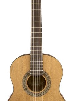 Fender Fender FA-15N 3/4 Nylon String Guitar with Gig Bag, Natural