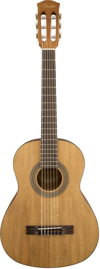 Fender Fender FA-15N 3/4 Nylon String Guitar with Gig Bag, Natural
