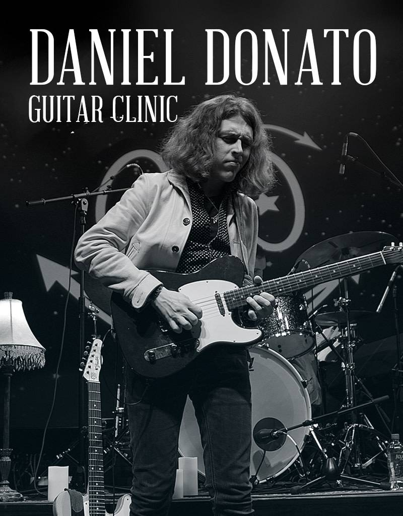 Daniel Donato Guitar Clinic - General Admission