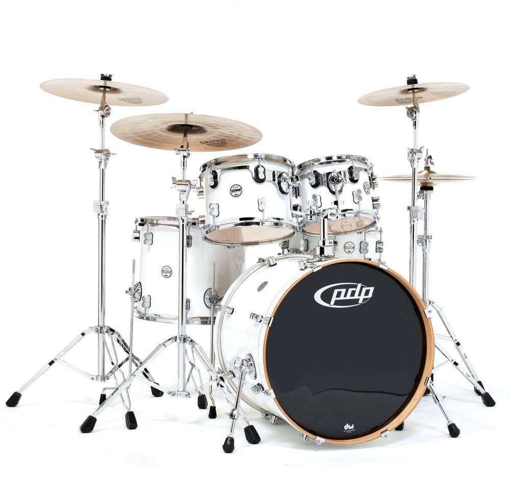 PDP PDP Concept Maple 5pc Shell Pack, Pearlescent White