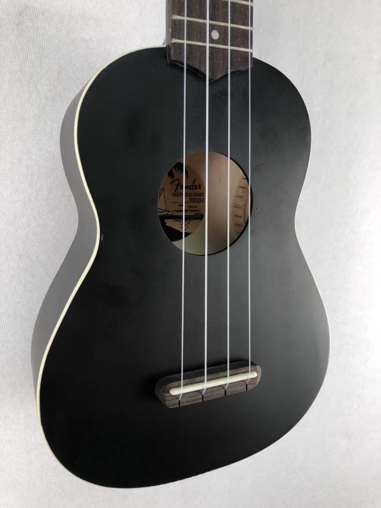 Fender Fender Venice Soprano Uke, Black