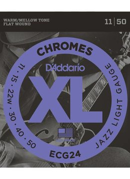 D'Addario D'Addario Set Chromes Jazz Light 11-50