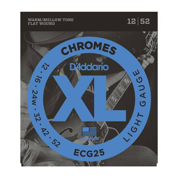 D'Addario D'Addario Set Chromes Light 12-52