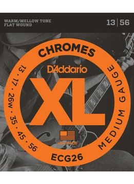 D'Addario D'Addario Set Chromes Medium 13-56