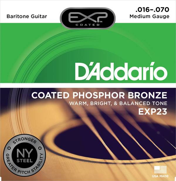 D'Addario D'Addarrio EXP Baritone Strings .016-.070