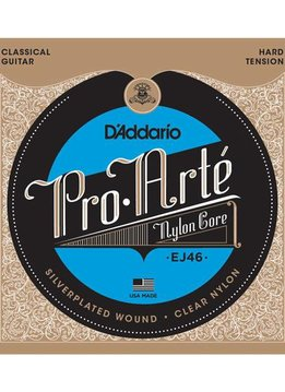 D'Addario D'Addario EJ46 Set Pro-Arte Hard Tension