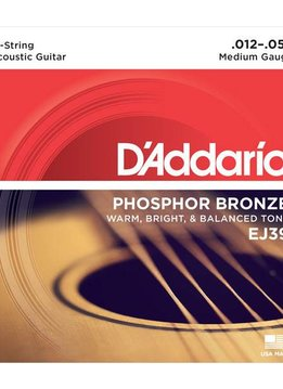 D'Addario D'Addario Phosphor Bronze Medium 12-String