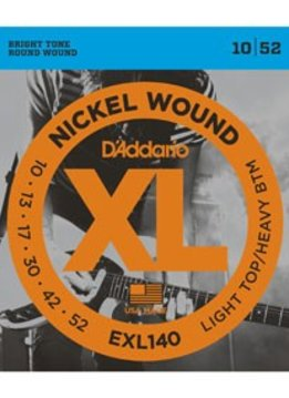 D'Addario D'Addario Nickel Light Top/Heavy Bottom