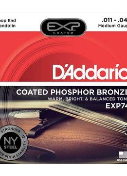D'Addario D'Addario EXP74 Phos Bronz Mand. Medium 11-40