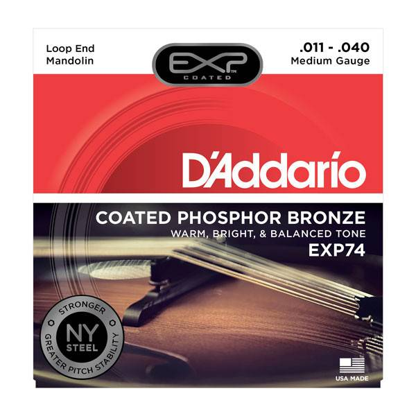 D'Addario D'Addario EXP74 Phosphor Bronze Mand. Medium 11-40