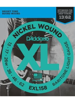 D'Addario D'Addario EXL158 Baritone Light Gauge Strings (13-62)