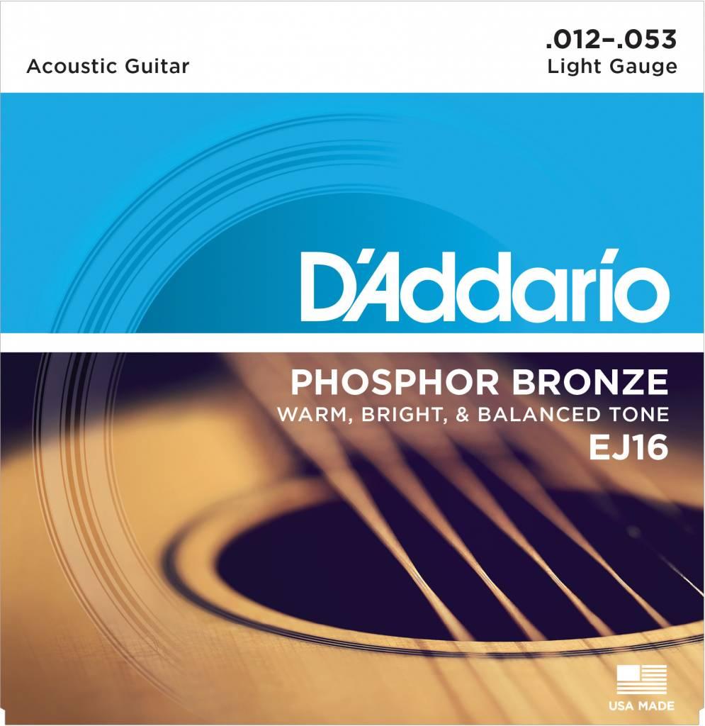 D'Addario D'Addario EJ16 Acoustic Strings