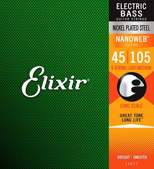 Elixir Elixir NANOWEB Bass 4 String Medium