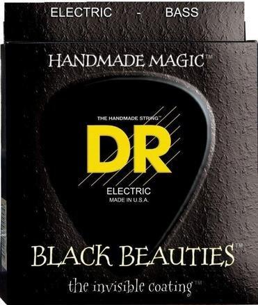 DR DR 5-String Bass Black Beauties Coated Medium 45-125