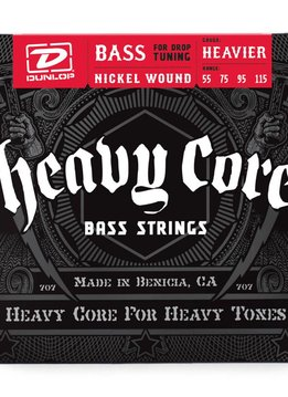Dunlop Dunlop Heavy Core Heavier Bass Strings