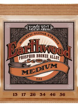 Ernie Ball Ernie Ball Earthwood Phosphor Bronze Medium Acoustic Strings
