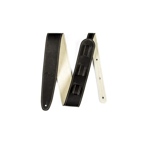 Fender Fender® Ball Glove Leather Strap, Black
