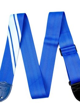 Fender Fender® Competition Stripe Strap, Blue and Light Blue