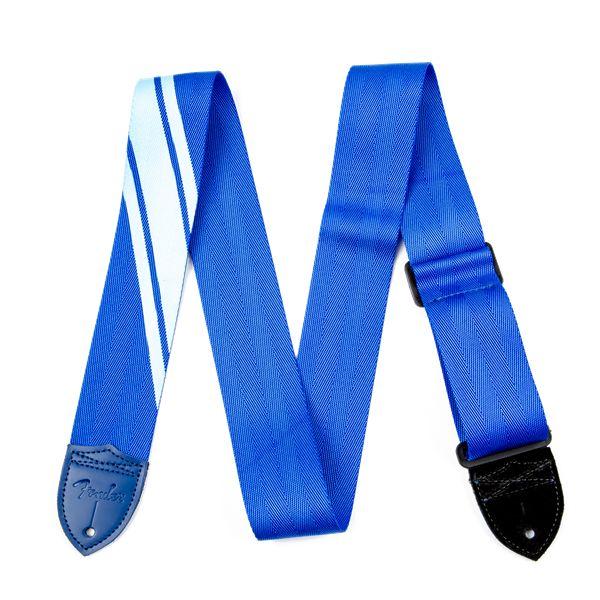 Fender Fender® Competition Stripe Strap, Blue and Light Blue