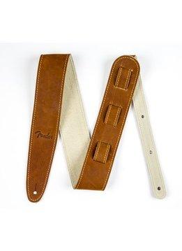 Fender Fender® Ball Glove Leather Strap, Brown