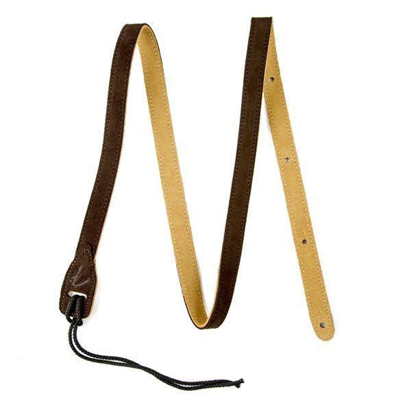 Fender Fender Mandolin Strap, Brown Suede