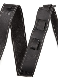 Fender Fender® Monogram Leather Strap, Black
