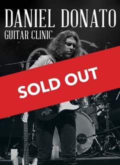 Daniel Donato Guitar Clinic - VIP Second Row w/ T Shirt