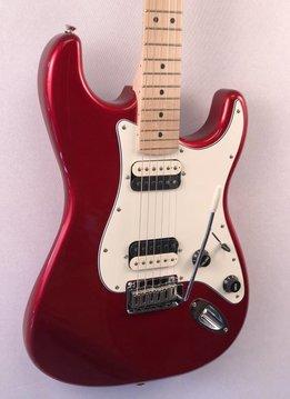 Fender Squier by Fender Contemporary Stratocaster® HH, Maple Fingerboard, Dark Metallic Red