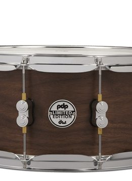 PDP PDP 6.5x14 LTD 20 Ply Maple/Walnut Shell with Natural Satin Finish