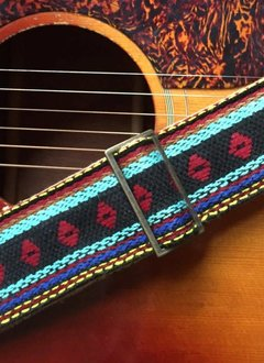 Fuzz Original Fuzz Indian Guitar Strap in Yamuna
