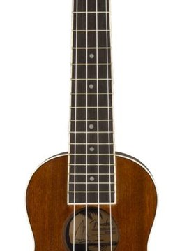 Fender Fender Seaside Soprano Ukulele, Natural