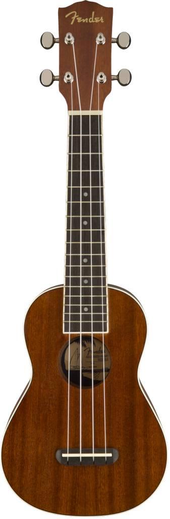 Fender Fender Seaside Soprano Ukulele, Natural