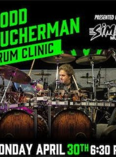 Todd Sucherman Drum Clinic - VIP Front Row