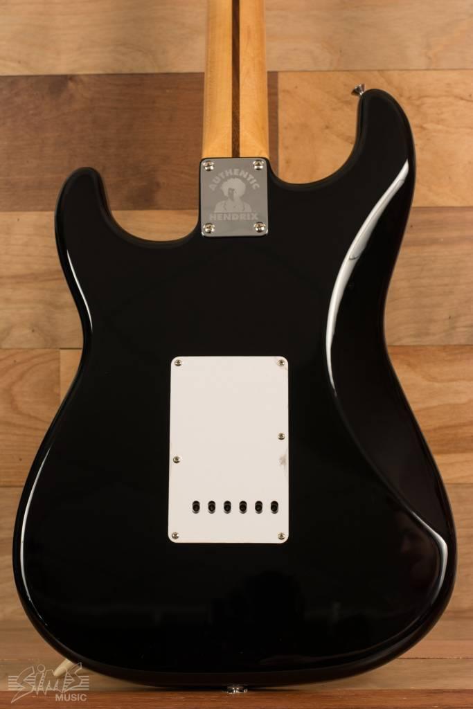 Fender Fender Jimi Hendrix Stratocaster®, Maple Fingerboard, Black